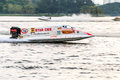 Powerboat racing Royalty Free Stock Photo