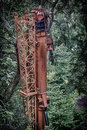 Telescoping section of crane
