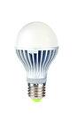 Powerfull energy saving LED light bulb Royalty Free Stock Images