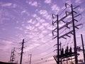 Powerhouse electric industry power plant Stock Photos