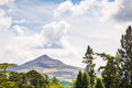 Powerscourt gardens co wicklow sugarloaf mountain in Royalty Free Stock Photos