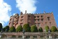 Powis castle first built in and remodelled for over years Royalty Free Stock Photo