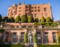Powis castle in wales the italianate terraced gardens at welshpool powys uk Royalty Free Stock Photography