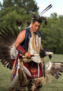 PowWow Dancer Royalty Free Stock Images
