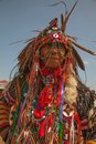 Powwow native american festival unidentified participant of the at floyd bennett field on june in brooklyn ny the Stock Photos