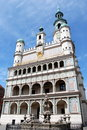 Poznan, Poland: 16th Century Town Hall Royalty Free Stock Image