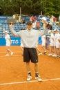 Poznan Porshe Open 2009 - P.Luczak - The Winner Royalty Free Stock Photo