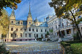 Poznanski's Palace in Lodz, Poland Royalty Free Stock Photo