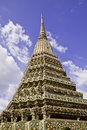 Pra-Chetupon Temple Bangkok Thailand Royalty Free Stock Photos