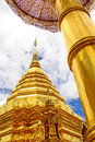 Pra thad doi suthep temple in chiang mai thailand Stock Images