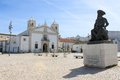 Praca infante dom henriquie lagos portugal a public square in algarve called henrique Stock Photography
