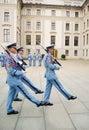 предохранители prague церемонии замока изменяя Стоковое Изображение RF