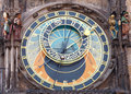 The Prague Astronomical Clock Royalty Free Stock Photography