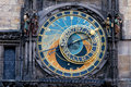 Prague. The Astronomical Clock Stock Image