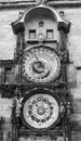 The Prague Astronomical Clock Stock Photos