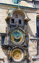 Prague Astronomical Clock(Czech Republic) Stock Images