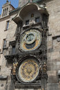 Prague astronomical clock the famous in czech republic each hour she comes to life Stock Photo