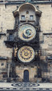 Prague astronomical clock medieval czech republic Royalty Free Stock Photos