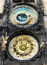 Prague astronomical clock one of the most visited place for more on the topic please visit my czech republic collection Stock Image
