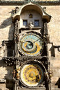 Prague Astronomical Clock, Orloj Royalty Free Stock Images