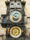 Prague Astronomical Clock (Prague Orloj) Stock Image