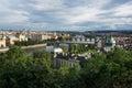 Prague bridges Royalty Free Stock Photo