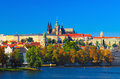 Prague Castle day view Royalty Free Stock Photo