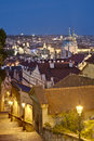 Prague Castle old steps. Royalty Free Stock Image