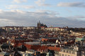 Prague Castle to the Old Tower. Prague. Czech Republic Royalty Free Stock Images