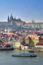 Prague Castle, Vltava River, Charles Bridge