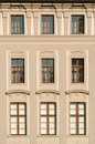 Prague castle windows Stock Photography