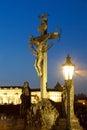 Prague, charles bridge Royalty Free Stock Photo