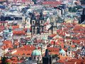 Prague: City View Stock Photo