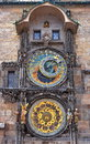 Prague Clock Royalty Free Stock Photo
