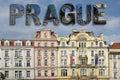 Prague collage square