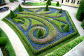 Prague,Czech Rep: Vrbtovska Knot Garden Stock Photography