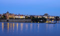 Prague czech republic in the evening Stock Image