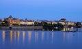 Prague czech republic in the evening Stock Image