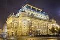 Prague, Czech Republic, The National Theater Royalty Free Stock Photo