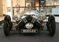 PRAGUE - FEB 13: Morgan 3-Wheeler. February 13, 2013 Stock Photos