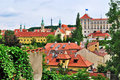 Prague, Hradcany Royalty Free Stock Photo