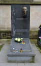 Prague jun last resting place of milada horakova the famous czech political victim communism vysehrad june Stock Image