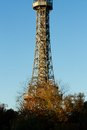 Prague lookout tower detail s petrin Royalty Free Stock Images