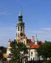 Prague the loretto loreta sanctuary in Stock Images