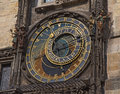 Prague medieval astronomical clock at the Old Town City Hall