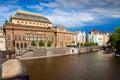 Prague National Theater Royalty Free Stock Photo