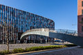 Prague office building main point karlin in international property awards competition best development category st prize in Stock Photo