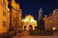 Prague, Old Town at night Royalty Free Stock Photo