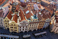 Prague, Old Town Square. Stock Image