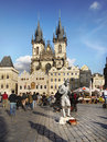 Prague, Old Town Square Royalty Free Stock Photo